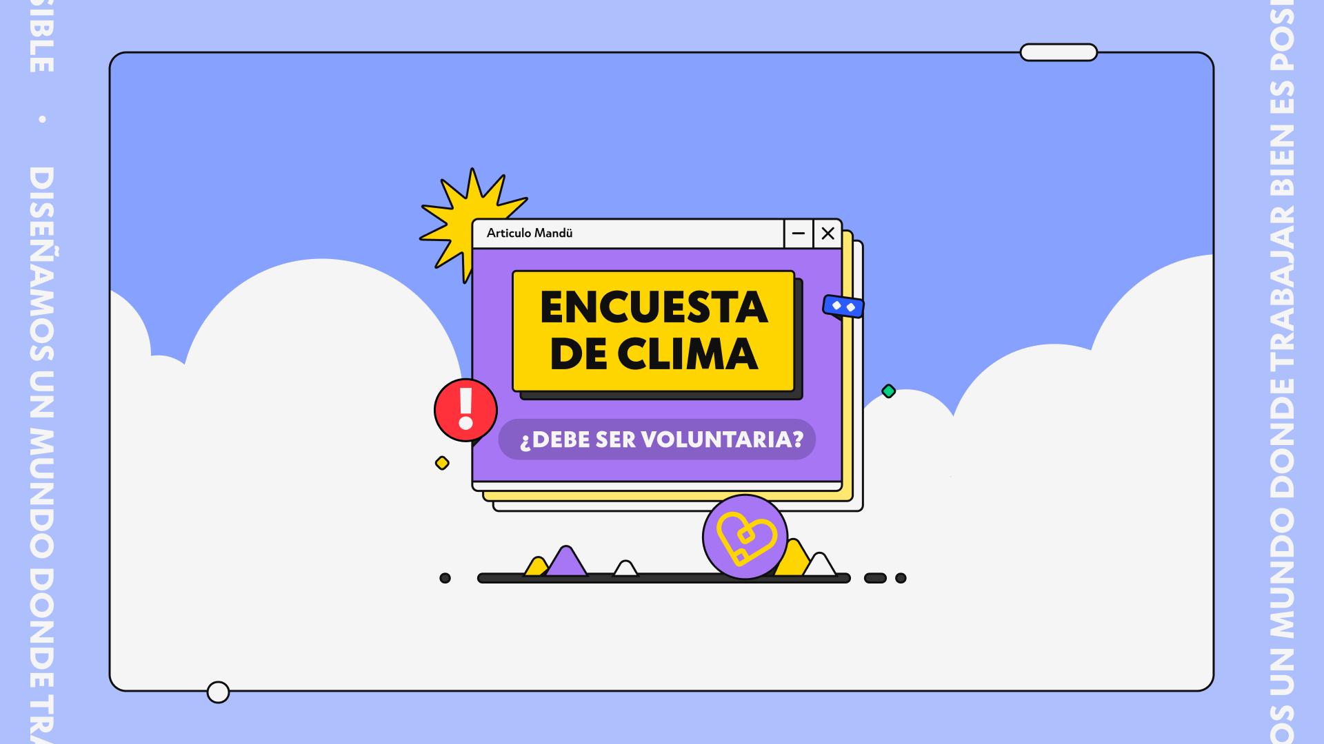 Encuesta de clima, ¿debe ser voluntaria?