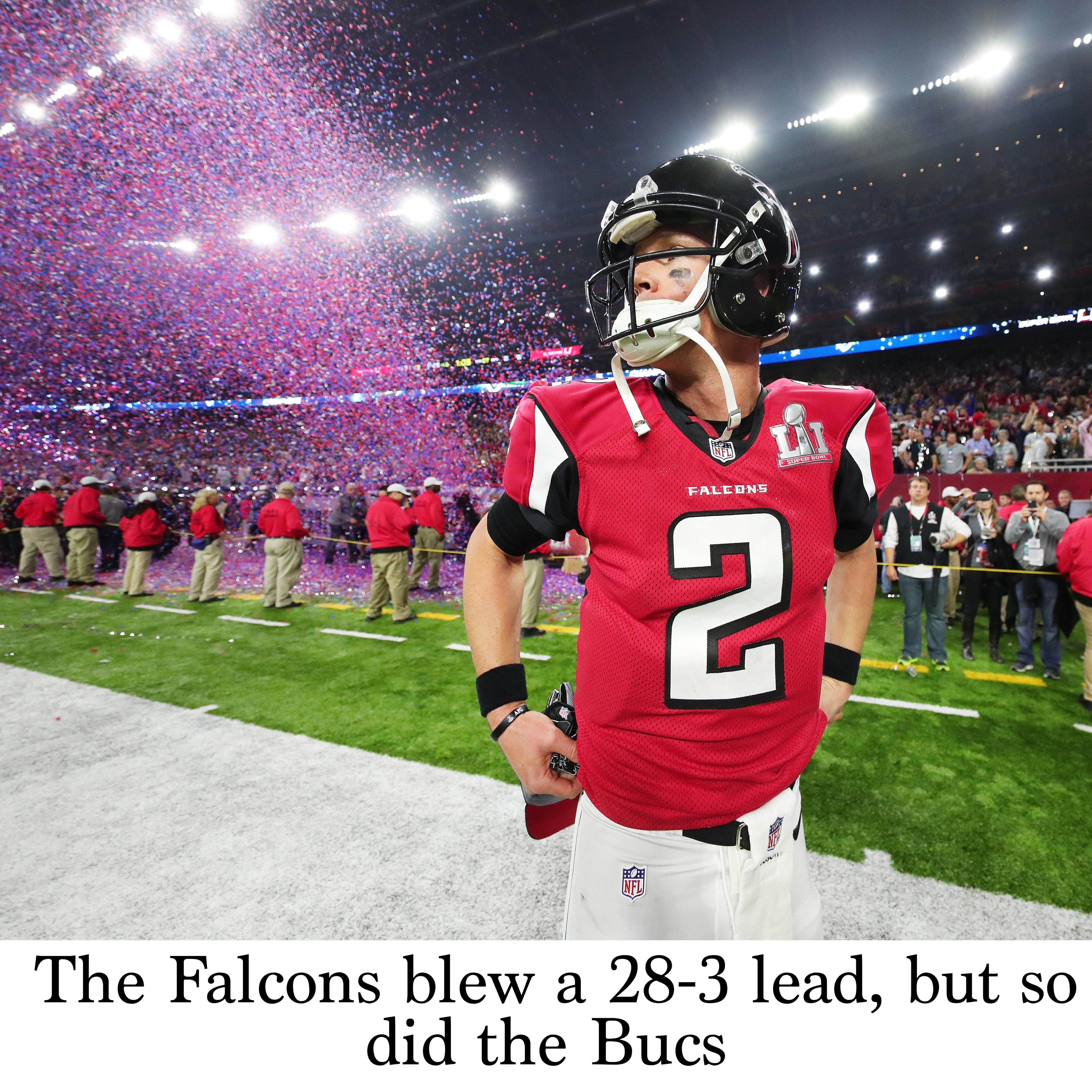 The Falcons Blew A 28 3 Lead But So Did The Bucs