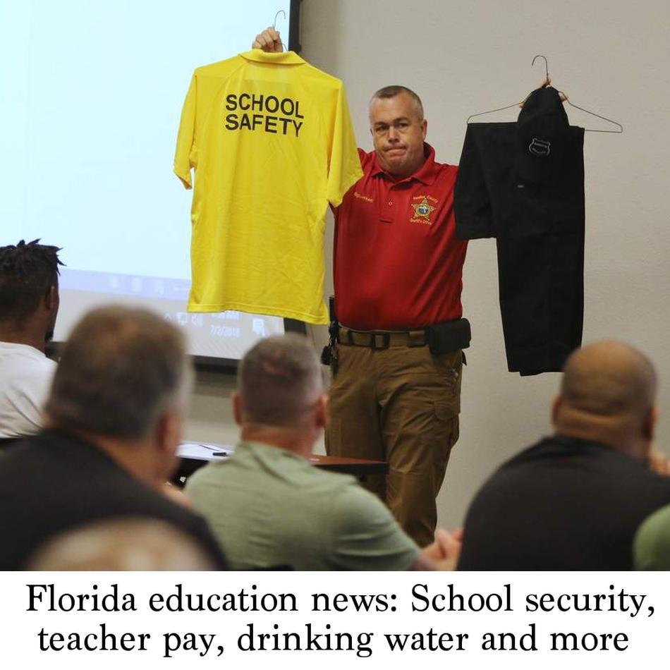 Florida education news: School security, teacher pay