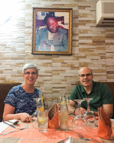 After almost two years, William is reunited with his parents in Côte d'Ivoire
