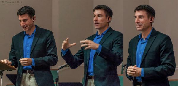 William speaks at Seminole First Baptist Church