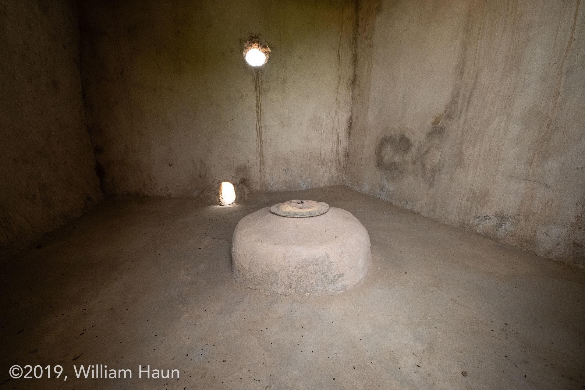 The well inside Zayaa Mosque of Wulugu, Ghana.