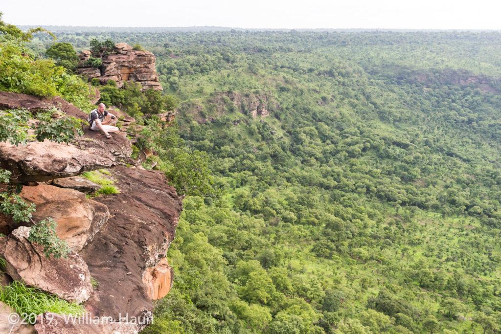 The Gambaga escarpment.