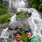 William and Jym at Amicalola Falls