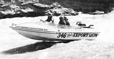 Reg Benton's Export Lion