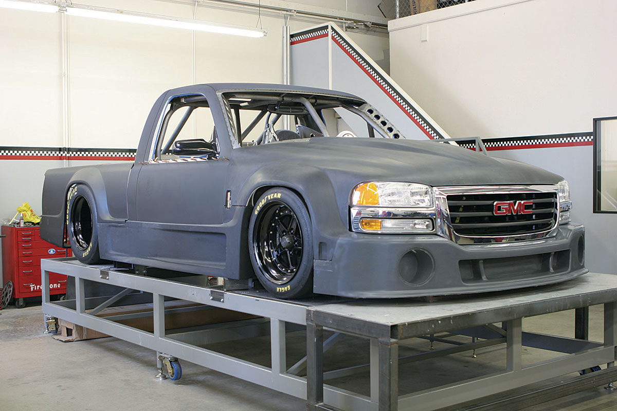 Type R on Dodge Dakota Race Truck
