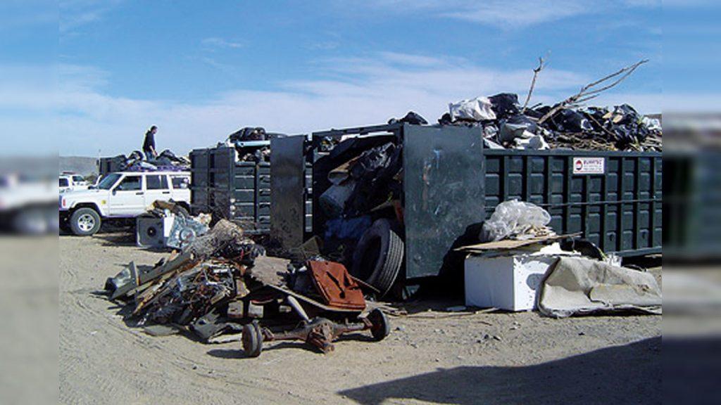 Stoddard Cleanup Dumpster