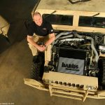 Automotive aftermarket legend Gale Banks revs up Army's Humvee