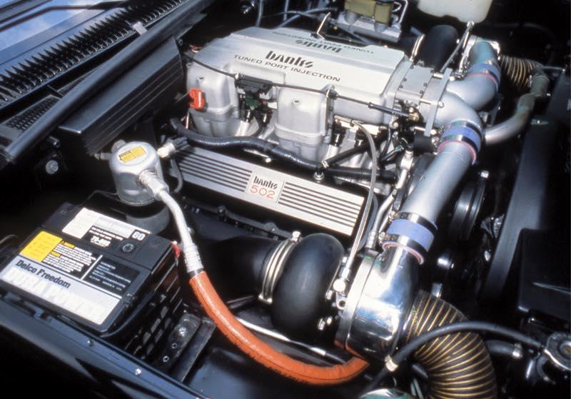 Fat Motor inna Little Truck | Banks Power