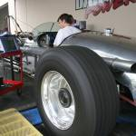 """THE LENO TANK CAR COMES """"HOME"""" TO BANKS FOR A CHECK-UP"""