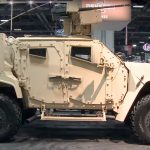 AUSA 2016 - Oshkosh Shows Off Big Gun JLTV: 30mm Cannon