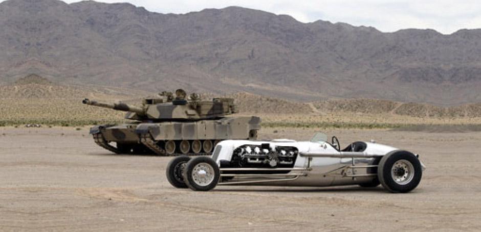 Tank meet Tank Car