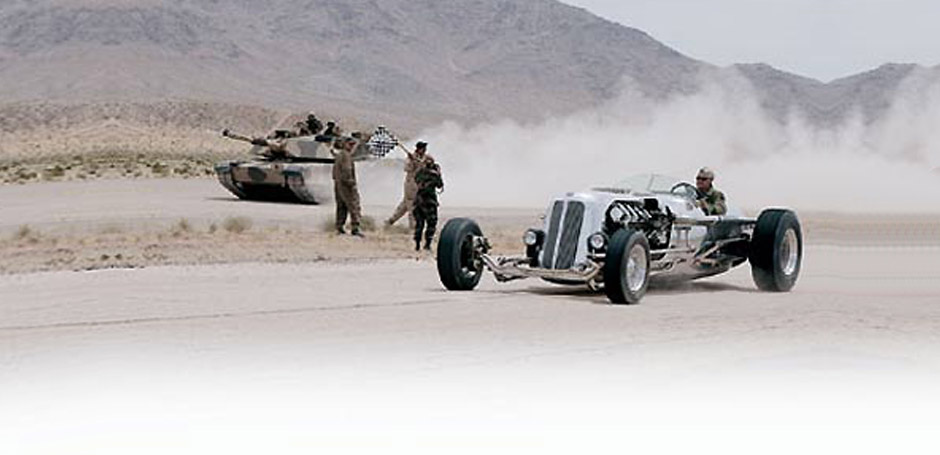 Tank races (sort of)