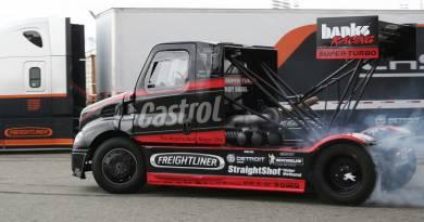 Mike Ryan's Banks Racing Freightliner