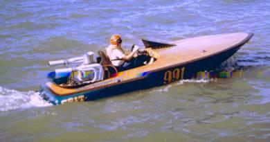 """Grit"" Endurance Marine Race Boat"