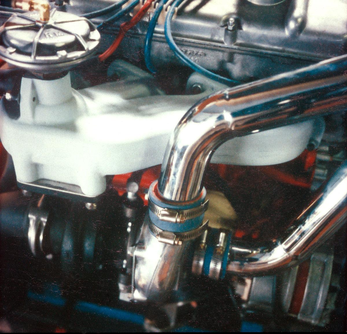 Engine - Volvo closeup