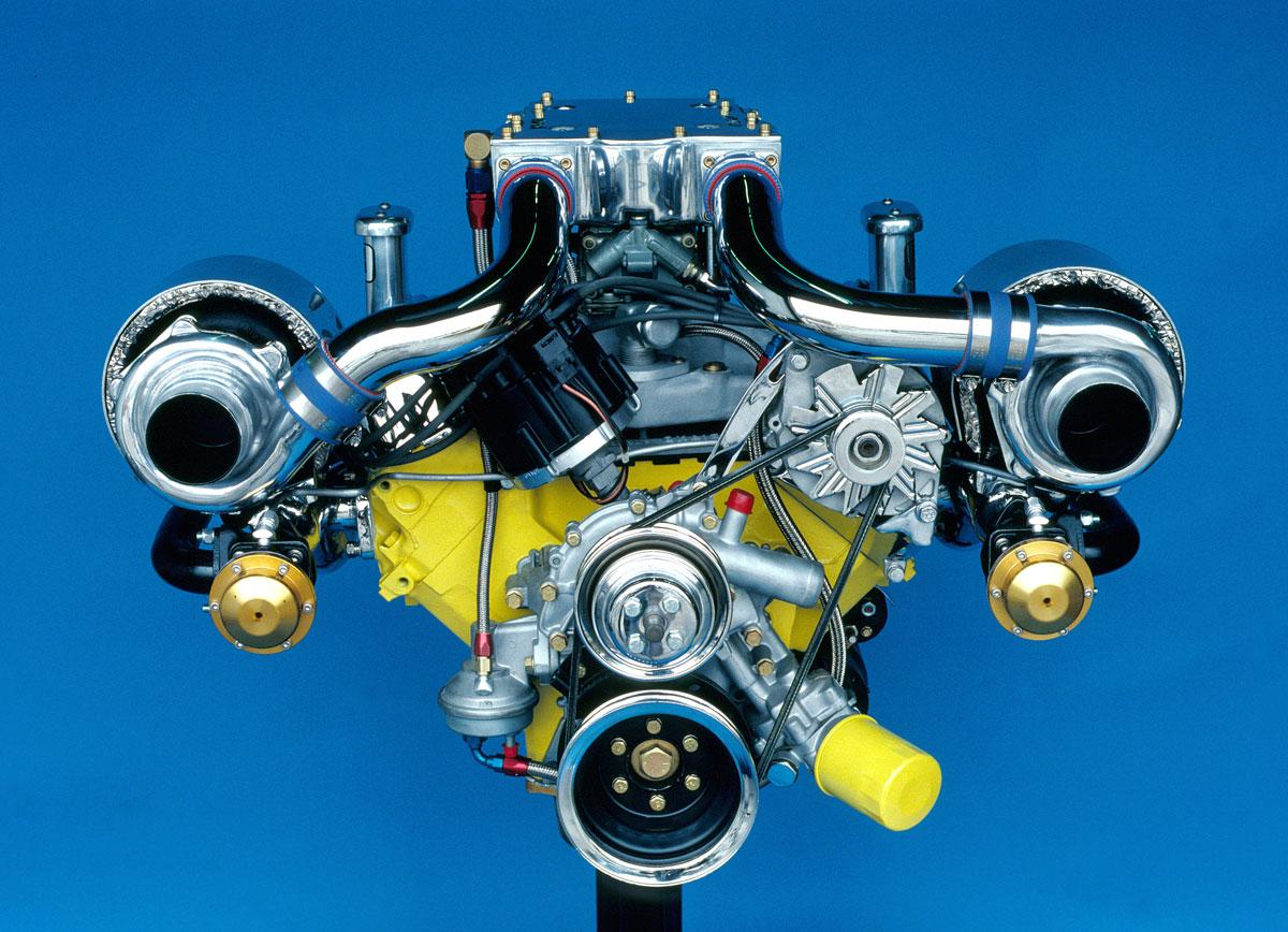 1981 Buick V6 headon
