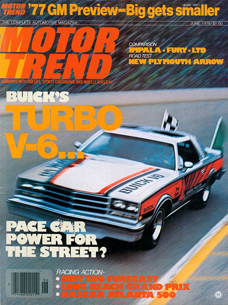 Motor Trend June 1976