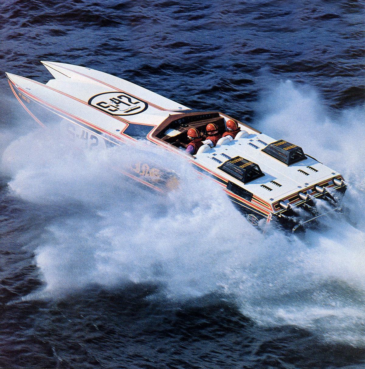 Powerboat KingSting 1984