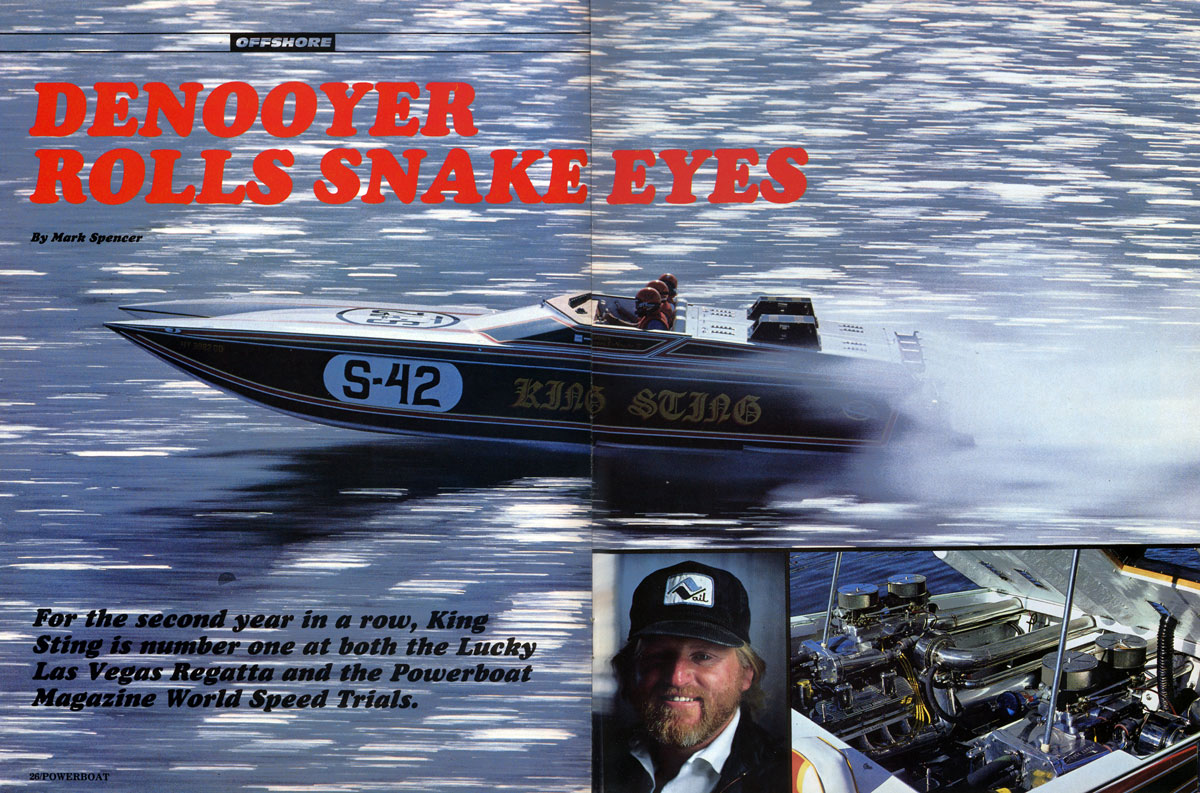 Powerboat - KingSting 1984