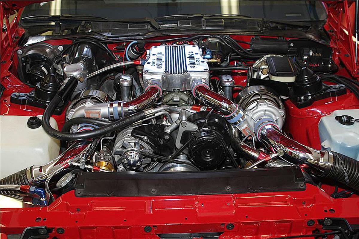 Engine underhood
