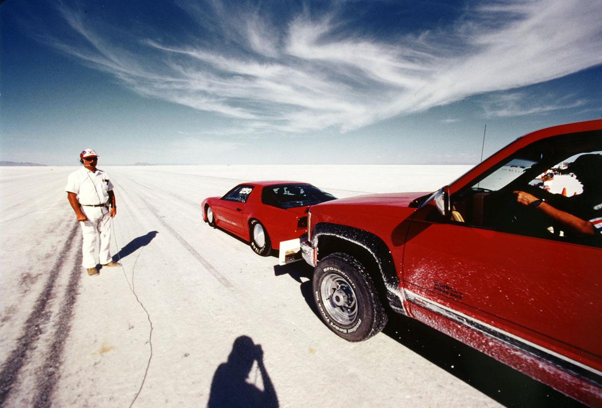 Pontiac 250 at the startline