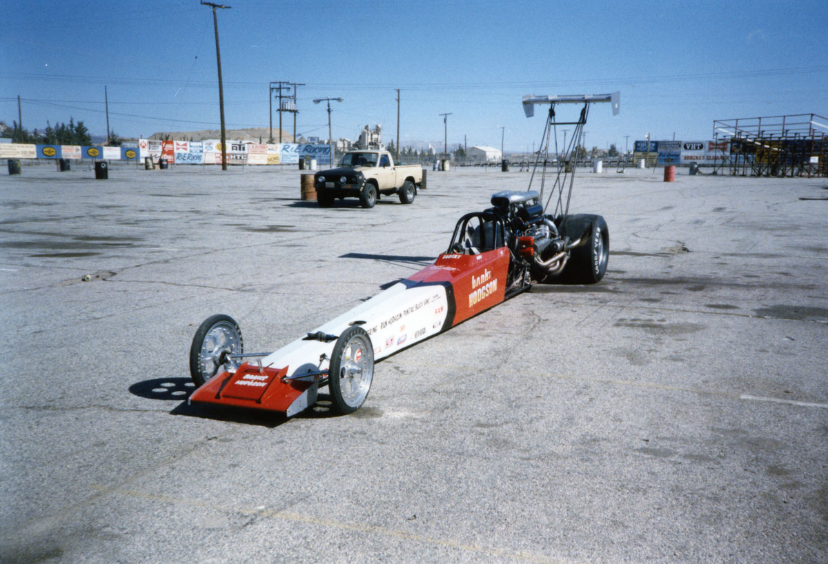 Banks Pacemaker Top Fuel Dragster