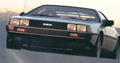 Banks Twin-Turbo V6 DeLorean