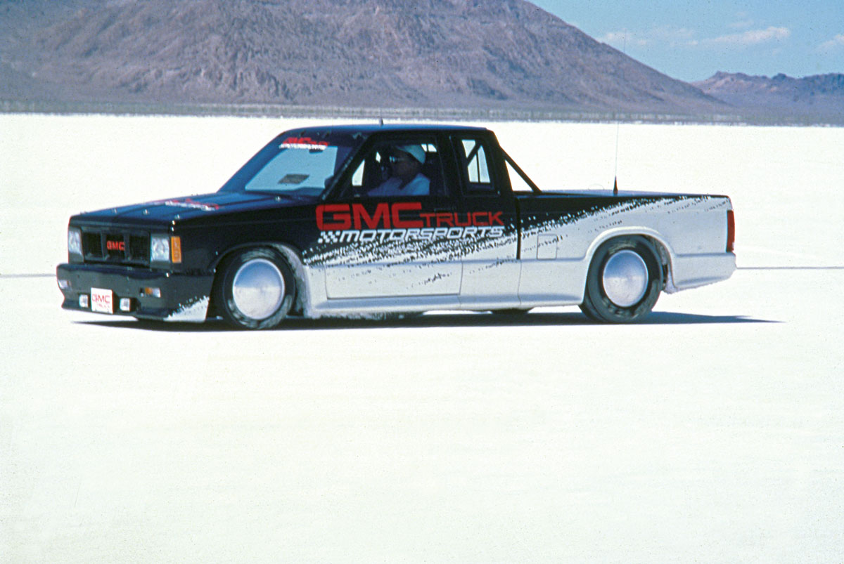 GMC Truck Motorsport's S-15 Club Coupe