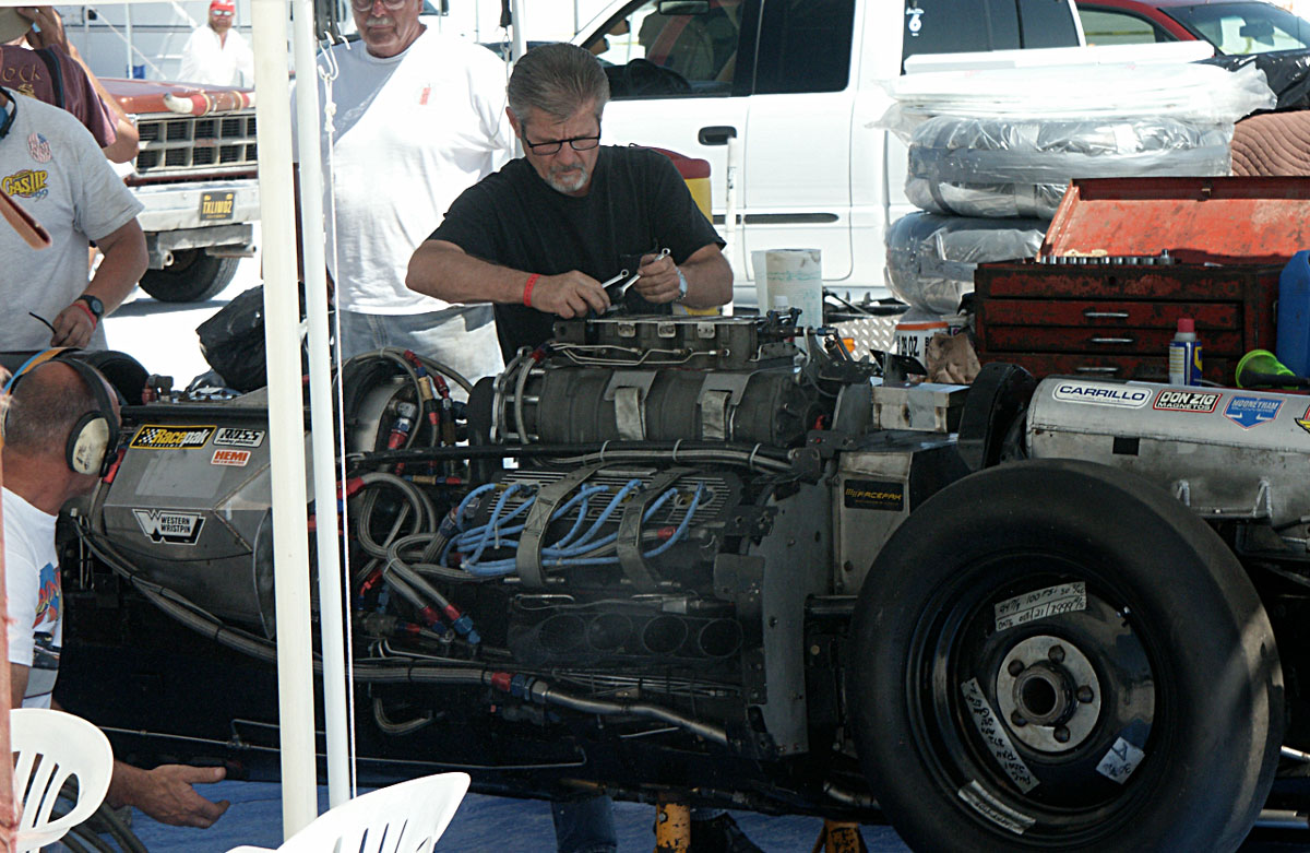 Working on the Streamliner