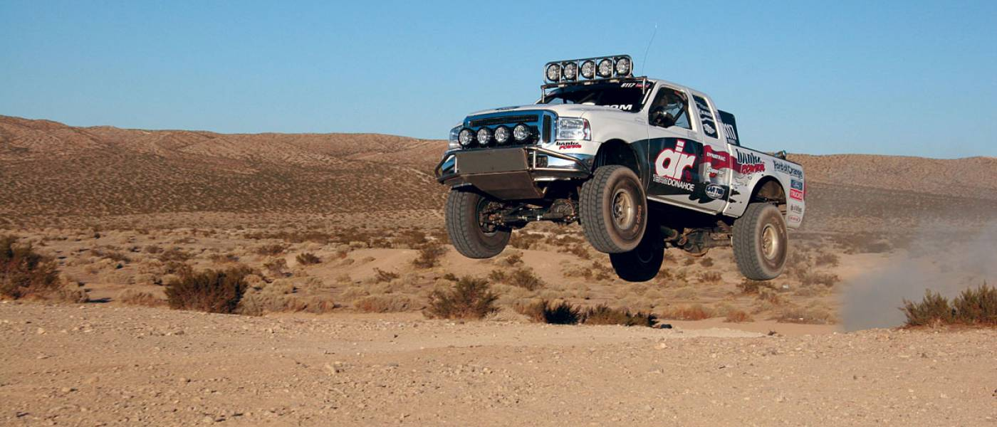 Donahoe Racing Baja 1000 Ford Super-Duty Race Truck | Banks Power