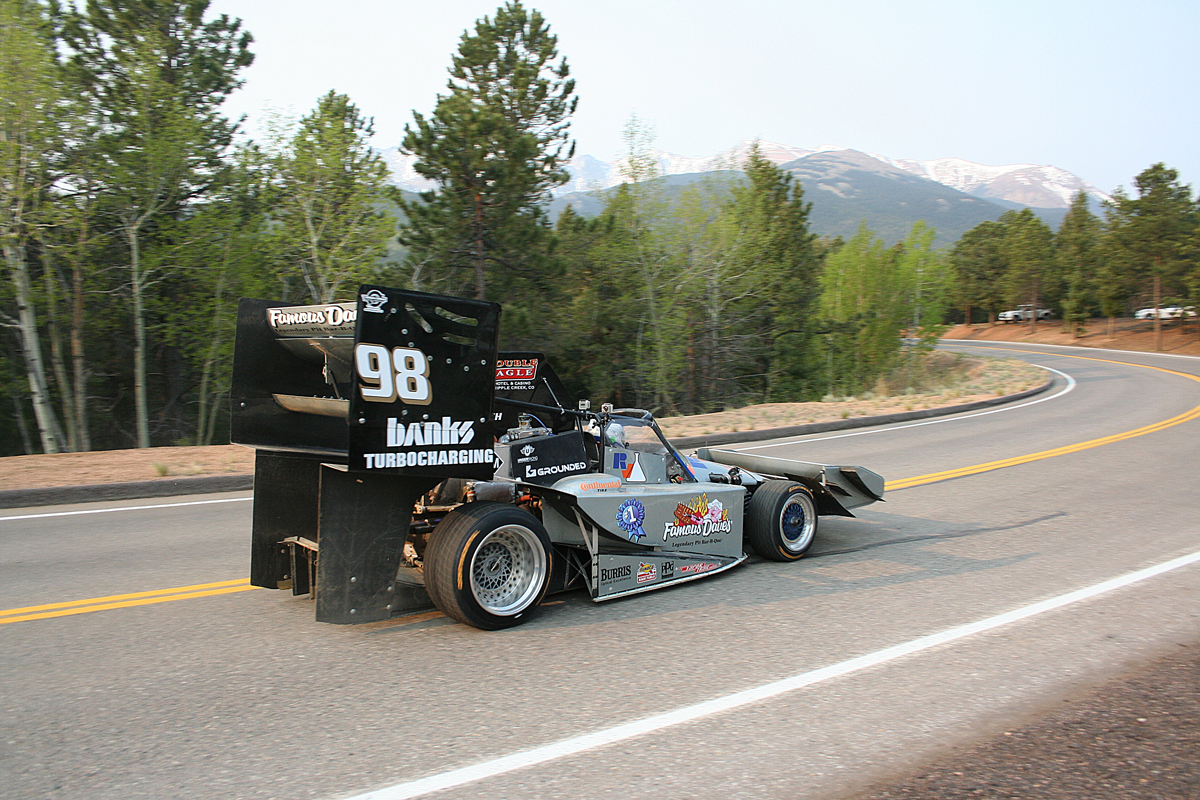Gas Alley at Pikes Peak