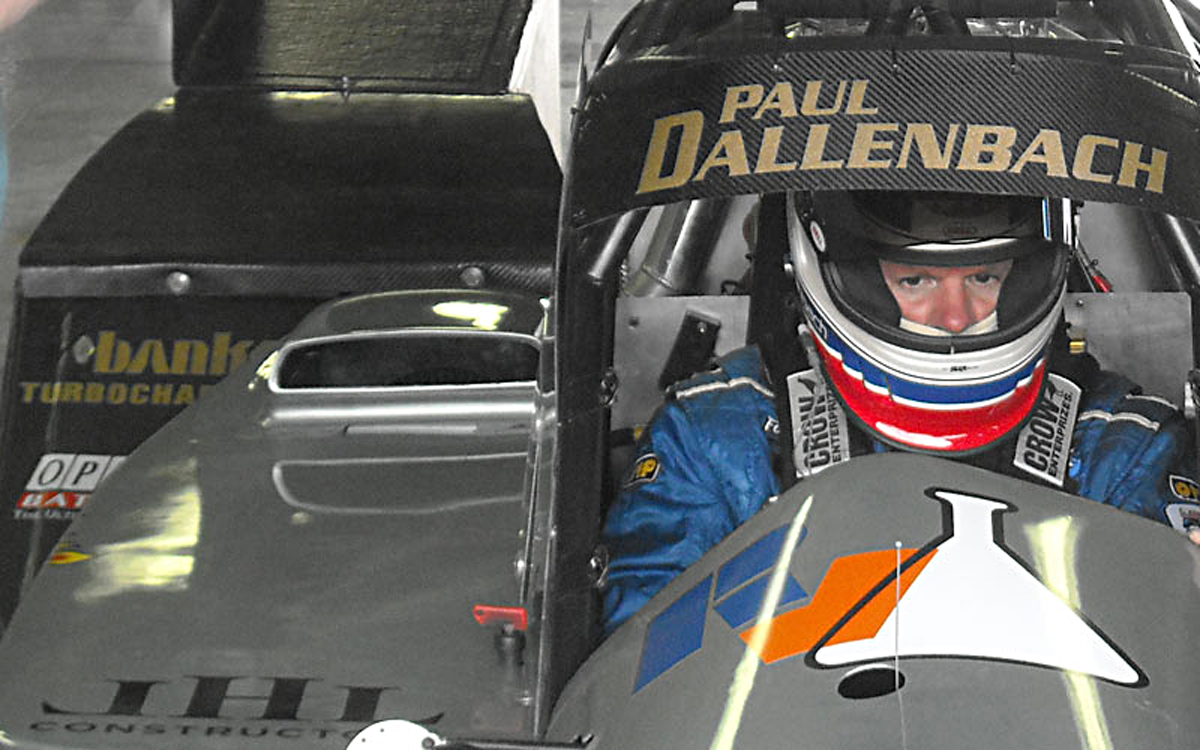 Paul Dallenbach ready for business