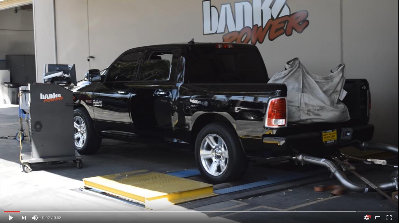Banks Power running USO6 MPG on Dodge Ram EcoDiesel