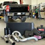 2009 GMC Sierra 2500HD Gale Banks Big Hoss Bundle Package Install