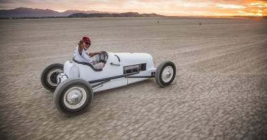 Ford Model T Modified Returns to El Mirage Dry Lake in Tribute to Speed Pioneer Karl Orr