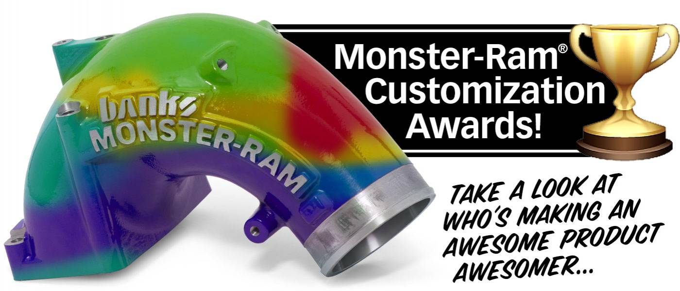 Monster-Ram Customization Awards