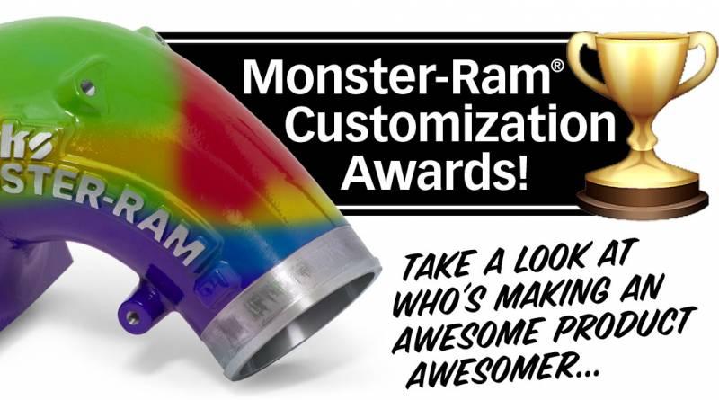 Monster-Ram Customization Awards