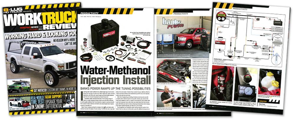 8Lug Work Truck December 2013 - Water-Methanol Injection Install