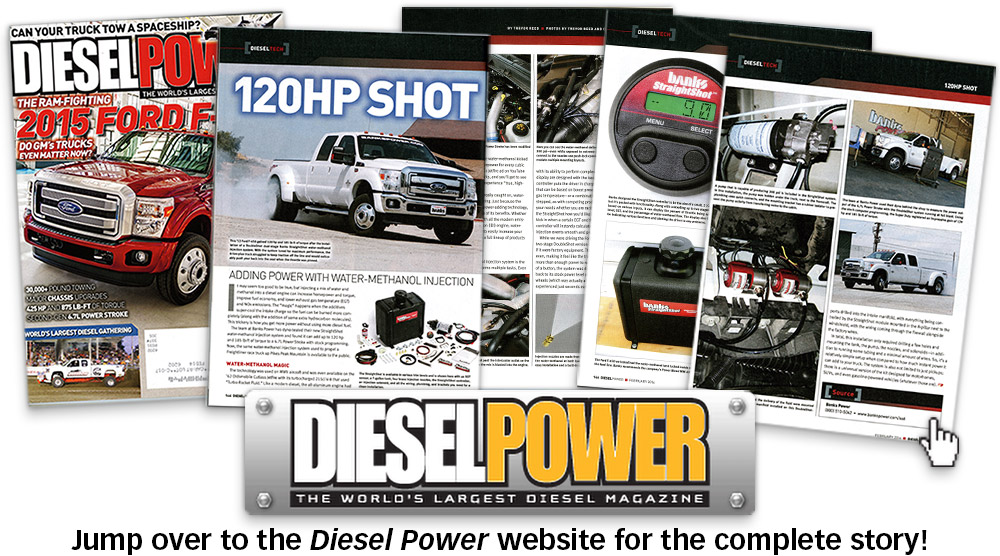 Diesel Power, Feb. 2014 - 120hp Shot