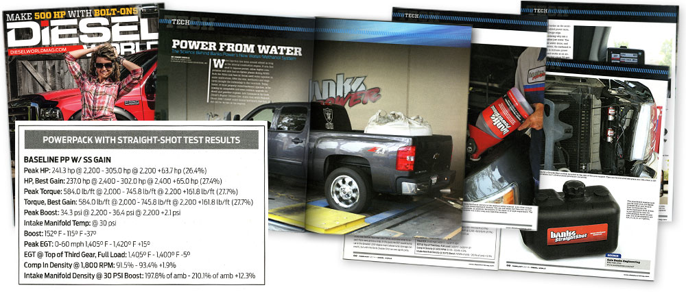 Diesel World February 2014 - Power from Water