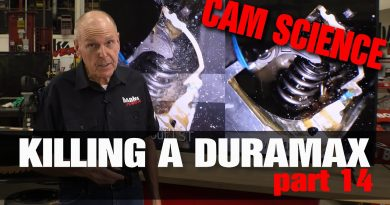 CAM SCIENCE! Killing A Duramax Pt 14