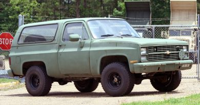 A great entry-level diesel vehicle that is found readily on the government auctions is that mid-80s K5 Blazer with the 6.2L diesel.