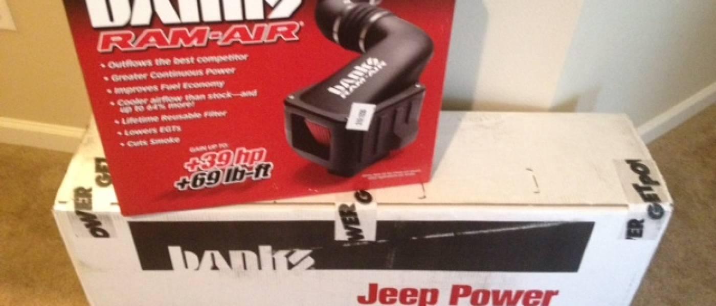OffRoad-Reviews Stinger kit for 2012 Jeep 3.6L JK
