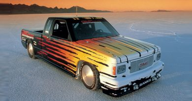 1989 GMC Syclone Land Speed Truck