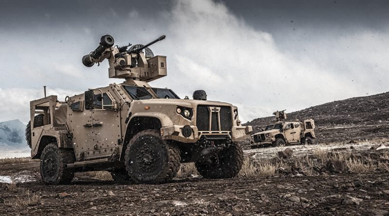 Banks-powered JLTV