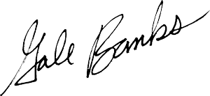 Gale Banks signature