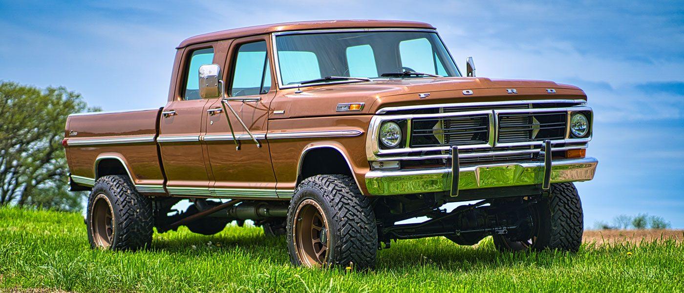 """1972 Ford F-150 """"Fummins"""""""