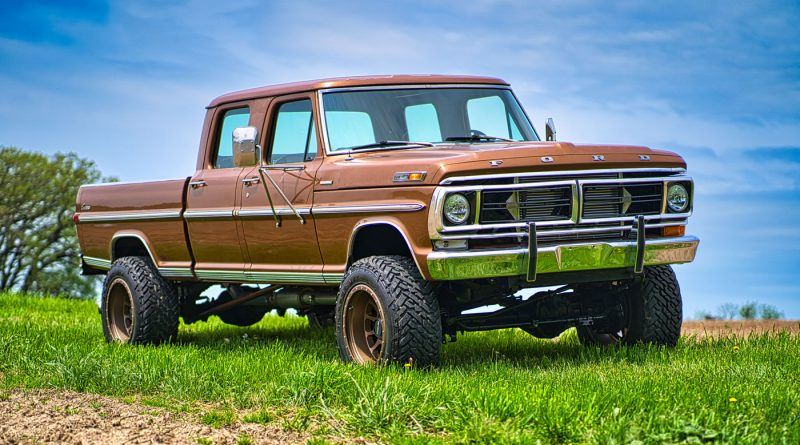 "1972 Ford F-150 ""Fummins"""