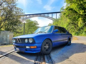 Christopher Rollins -1988 BMW 535IS